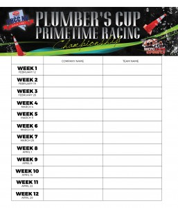 Plumbers Cup sign up